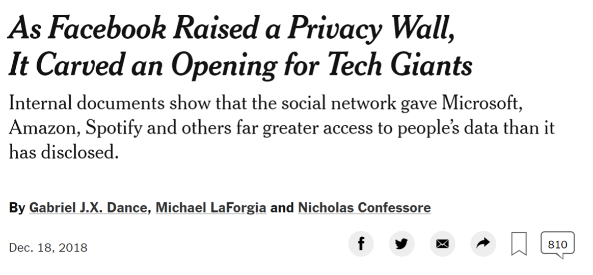 "Search for ""Facebook's latest privacy scandal"" to read today's latest news."